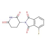 2-(2,6-dioxopiperidin-3-yl)-4-fluoroisoindole-1,3-dione