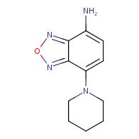 7-piperidin-1-yl-2,1,3-benzoxadiazol-4-amine