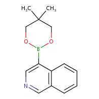 4-(5,5-Dimethyl-1,3,2-dioxaborinan-2-yl)isoquinoline