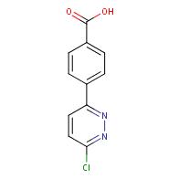 4-(6-Chloropyridazin-3-yl)benzoic acid
