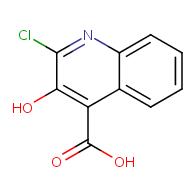 2-chloro-3-hydroxyquinoline-4-carboxylic acid