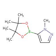 1-methyl-5-(tetramethyl-1,3,2-dioxaborolan-2-yl)-1H-pyrazole
