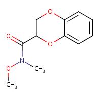 N-methoxy-N-methyl-2,3-dihydrobenzo[b][1,4]dioxine-2-carboxamide