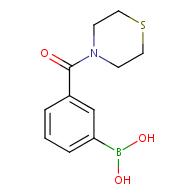 (3-(Thiomorpholine-4-carbonyl)phenyl)boronic acid