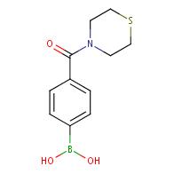 (4-(Thiomorpholine-4-carbonyl)phenyl)boronic acid