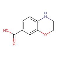 3,4-dihydro-2H-1,4-benzoxazine-7-carboxylic acid
