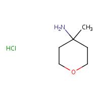4-methyloxan-4-amine hydrochloride