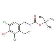 2-Boc-5,7-dichloro-6-hydroxy-1,2,3,4-tetrahydroisoquinoline
