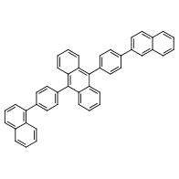 9-(4-(Naphthalen-1-yl)phenyl)-10-(4-(naphthalen-2-yl)phenyl)anthracene