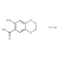 7-amino-2,3-dihydrobenzo[b][1,4]dioxine-6-carboxylic acid hydrochloride