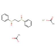 1,2-Bis(phenylsulfinyl)ethane Palladium(II) Diacetate
