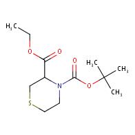 4-tert-Butyl 3-ethyl thiomorpholine-3,4-dicarboxylate