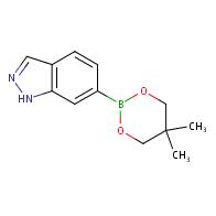 6-(5,5-dimethyl-1,3,2-dioxaborinan-2-yl)-1H-indazole