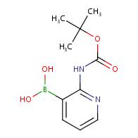 (2-[(tert-Butoxycarbonyl)amino]pyridin-3-yl)boronic acid