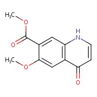methyl 6-methoxy-4-oxo-1,4-dihydroquinoline-7-carboxylate