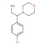 2-(4-Chlorophenyl)-2-morpholinoethylamine