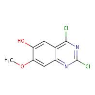 2,4-Dichloro-7-Methoxyquinazolin-6-Ol