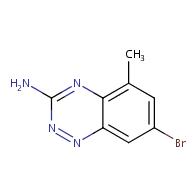 7-bromo-5-methylbenzo[e][1,2,4]triazin-3-amine