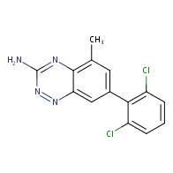 7-(2,6-dichlorophenyl)-5-methylbenzo[e][1,2,4]triazin-3-amine