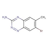 7-bromo-6-methylbenzo[e][1,2,4]triazin-3-amine