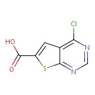 4-chlorothieno[2,3-d]pyrimidine-6-carboxylic acid