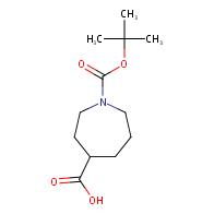 1-[(tert-butoxy)carbonyl]azepane-4-carboxylic acid