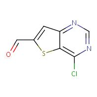 4-chlorothieno[3,2-d]pyrimidine-6-carbaldehyde
