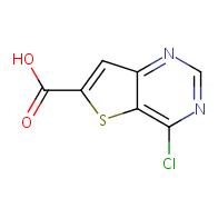 4-Chlorothieno[3,2-d]pyrimidine-6-carboxylic Acid