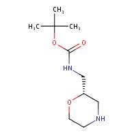tert-butyl N-[(2S)-morpholin-2-ylmethyl]carbamate