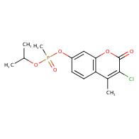 3-chloro-4-methyl-2-oxo-2H-chromen-7-yl isopropyl methylphosphonate