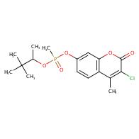 3-chloro-4-methyl-2-oxo-2H-chromen-7-yl (3,3-dimethylbutan-2-yl) methylphosphonate