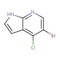 5-bromo-4-chloro-1H-pyrrolo[2,3-b]pyridine