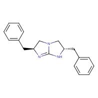 (2S,6S)-2,6-dibenzyl-2,3,5,6-tetrahydro-1H-imidazo[1,2-a]imidazole