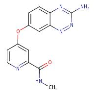4-((3-aminobenzo[e][1,2,4]triazin-7-yl)oxy)-N-methylpicolinamide
