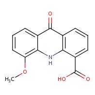 5-methoxy-9-oxo-9,10-dihydroacridine-4-carboxylic acid
