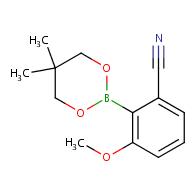 2-(5,5-dimethyl-1,3,2-dioxaborinan-2-yl)-3-methoxybenzonitrile