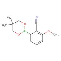 2-(5,5-Dimethyl-1,3,2-dioxaborinan-2-yl)-6-methoxybenzonitrile