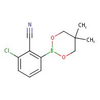 2-Chloro-6-(5,5-dimethyl-1,3,2-dioxaborinan-2-yl)benzonitrile