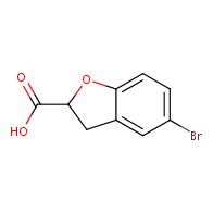 5-Bromo-2,3-dihydrobenzofuran-2-carboxylic acid