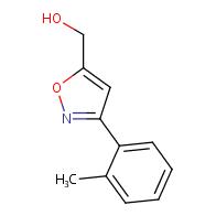 (3-(o-Tolyl)isoxazol-5-yl)methanol