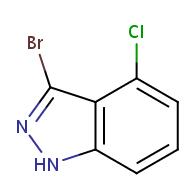 3-bromo-4-chloro-1H-indazole