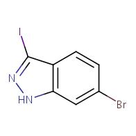 6-bromo-3-iodo-1H-indazole