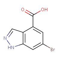 6-bromo-1H-indazole-4-carboxylic acid