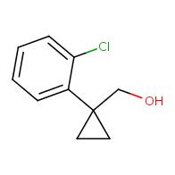 [1-(2-Chlorophenyl)cyclopropyl]methanol