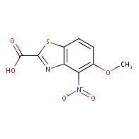 5-Methoxy-4-nitrobenzo[d]thiazole-2-carboxylic acid