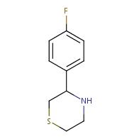 3-(4-Fluorophenyl)thiomorpholine