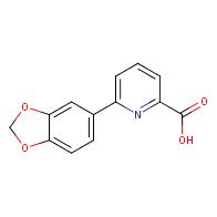 6-(Benzo[d][1,3]dioxol-5-yl)picolinic acid