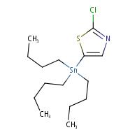 5-(tributylstannyl)-2-chlorothiazole