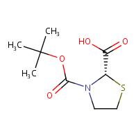2,3-thiazolidinedicarboxylic acid, 3-(1,1-dimethylethyl) ester, (2s)-