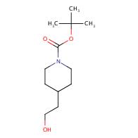 1-Piperidinecarboxylicacid, 4-(2-hydroxyethyl)-, 1,1-dimethylethyl ester